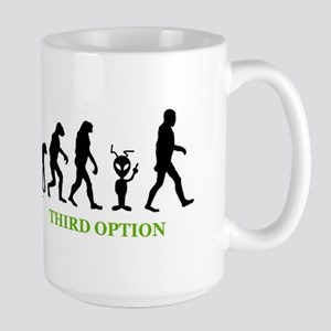 Third Option Large Mug